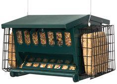 Seed N More Suet Hopper Bird Feeder