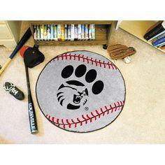 CS Chico Wildcats NCAA Baseball Round Floor Mat (29)