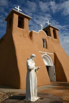 A Church In New Mexico, USA