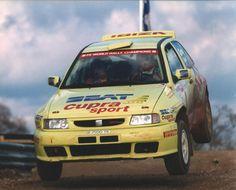 Gwydaf Evans and Howard Davies SEAT Ibiza EVO 2 - Mobil 1 British Rally Championship 1998