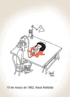 Mafalda es el nombre de una tira de prensa argentina desarrollada por el humorista gráfico Quino de 1964 a 1973, protagonizada por la niña homónima, «espejo de la clase media latinoamericana y de la juventud progresista», que se muestra preocupada por la humanidad y la paz mundial, y se rebela contra el mundo legado por sus mayores.