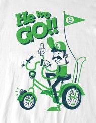 T-shirt inspirada no clássico dos games.