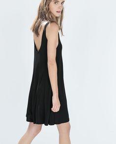 Image 3 of JUMPSUIT WITH STRAPS from Zara Moda Zara, Vestidos Zara, Zara United Kingdom, Zara Fashion, Zara Dresses, Zara Women, Jumpsuits For Women, Backless, How To Wear
