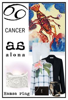 """WHAT DOES YOUR SIGN SAY ABOUT YOU AND YOUR YEAR AHEAD? Cancer."" by by-alona ❤ liked on Polyvore featuring Salvador Dali, Alona, Rebecca Minkoff, Atea Oceanie, Ted Baker and Yves Saint Laurent"