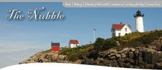 Nubble Light: York Beach, Maine - there's an ice cream shop across from the lighthouse and they have the best Blueberry Pie with Blueberry Ice Cream!