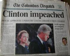 The impeachment of Bill Clinton: December 18, 1998