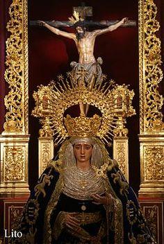La Hermandad de Montserrat es una agrupación religiosa católica que realiza una procesión anual durante la tarde y noche del Viernes Santo, con motivo de la celebración de la Semana Santa en Sevilla.