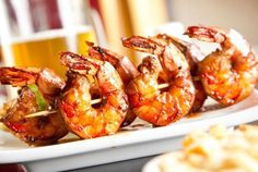 Barbecue Grilled Shrimp Recipe by Robin Selden
