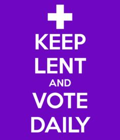 Join  members of St. John's Chapel by the Sea (PCUSA) in Lent Madness. http://www.lentmadness.org/