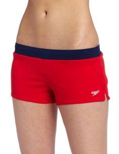 8fb70d4e07 Speedo Women's Guard Endurance Lite Swim Short, Red, X-Small Speedo http: