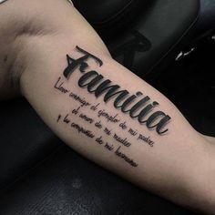 Tatuaje familia