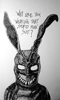 Donnie Darko - Frank the bunny rabbit