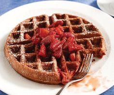 Three words for you: Red. Velvet. Waffles. Executive Chef Jason Hilgers dishes them up at Waffles in Chicago.