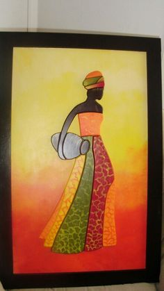 Decoupage, African Art Paintings, Artsy, Quilts, Ideas Para, Google, Sewing, Wall, Canvas Art