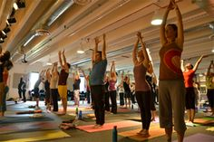 The Wellness Initiative's 3rd Annual Yogathon - Jeanie Manchester