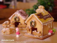 ヘクセンハウス村へようこそ♪☆簡単おいしいクッキーで作る、2013クリスマスお菓子の家|レシピブログ