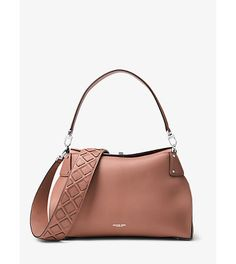 Miranda large french calf leather shoulder bag by Michael Kors Collection.