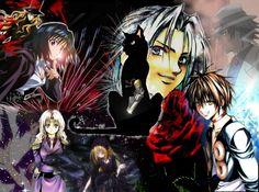 Black Cat Collage by Rosethorn-Chan.deviantart.com on @deviantART