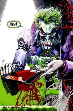 The Joker by Guillem March