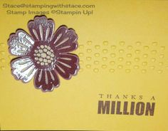 stampingwithstace.com bleach flower card