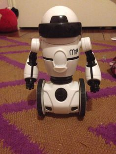 I got this new awesome Mip robot.For Christmas.