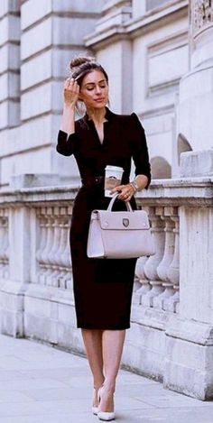 Classy Work Outfits, Summer Work Outfits, Work Casual, Cool Outfits, Fashion Outfits, Dress Summer, Womens Fashion, Smart Casual, Work Outfits For Women