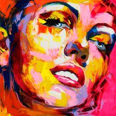 Marilyn by Francoise Nielly.