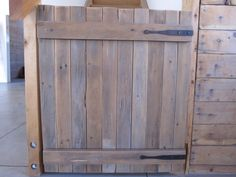 How To Build a Gate and your make your own Hinges – Guest Build{her}