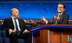 FOX NEWS: Stephen Colbert discusses Louis C.K. allegations: 'I feel dumb'