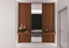 The interiors of the apartment 140m in Mirax park, Архитектурное бюро Александры Федоровой