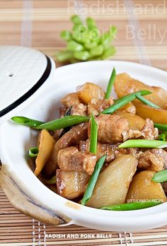 I learned this dish from a Taiwan cooking show. What caught my attention is the … I learned this dish from a Taiwan cooking show. What caught my attention is the simple ingredients and easy cooking method. I made a twist … Asian Cooking, Easy Cooking, Cooking Oil, Braised Pork Belly, Braised Beef, Pork Belly Recipes, Best Pork Belly Recipe, Chinese Pork, Asian Pork