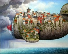 25 Digital Oil Painting Illustrations