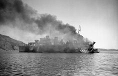 APR 30 1940 British troops evacuated from Namsos and Andalsnes - See more at: http://ww2today.com/ HMS_Bittern