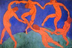 舞 ( 第2号 ) ,1909 - 1910 年,260x391cm,布 油彩,圣彼得堡 艾尔米塔什博物馆