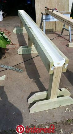 Gutter backyard on raised stand - nice thought for patio or balcony. Accessible for wheelchair , Gutter backyard on raised stand - nice thought for patio or balcony. Accessible for wheelchair Gutter backyard on raised stand - nice thought for pati.