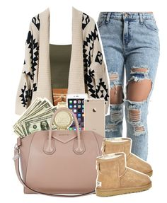 """""""............"""" by fxrrxh ❤ liked on Polyvore featuring ASOS, Black Apple, Michael Kors, Givenchy and UGG Australia"""