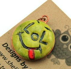 Handmade Art Charm by Shelley Graham Turner 100% of Proceeds Donated to Beads of Courage | eBay