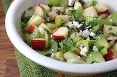 Gojee - Sweet, Salty, Crunchy, Zingy Apple and Celery Salad by Food 52