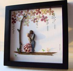 Fühlt sich an wie der Frühling, wenn Sie da sind. Einzigartige Hochzeitsgeschenk, Verlobungsgeschenk, Geburtstagsgeschenk oder Geschenk zu feiern und schätzen den besonderen Anlass; ein außergewöhnliches Geschenk, das für viele Jahre geschätzt wird. ✿ Pebble Originale mit einem Sinn für