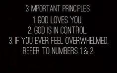 3 Important Principles