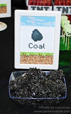 Tons of awesome Minecraft birthday party ideas from food to decor to games. …