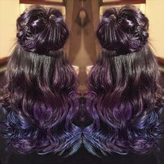 An awesome style is just the icing on top of a great color. Colorful Hair, Icing, Cool Style, Hair Color, Long Hair Styles, Awesome, Top, Beauty, Style Fashion