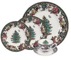 Spode Christmas Tree Grove 5-Piece Place Setting, Service for 1 #Christmas