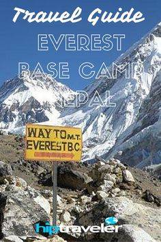 Travel Guide to Everest Base Camp, #Nepal | The Everest Base Camp trek: for anyone with a sense of adventure!