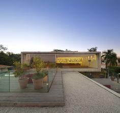 The P House designed by Studio MK27 & Marcio Kogan + Lair Reis, São Paulo, Brazil - 2012.