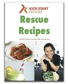 Everyday delicious recipes that RESCUE you from eating processed, dairy, gluten, sugary, foods.  Recipes that keep you bang on track, feeling on top form and loving your clean nutrition. 7 Chapters with 10 Easy Recipes per chapter designed to change your eating habits and live the Kick Start Lifestyle.  Yummery - best recipes. Follow Us! #healthyrecipes