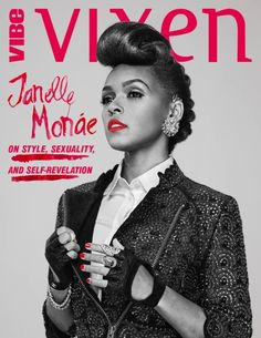 Janelle Monae images Janelle Monáe Covergirl wallpaper and Magazine Front Cover, Magazine Covers, Female Rock Stars, Lab, My Fair Lady, Music Magazines, Tumblr, Female Singers, Celebs