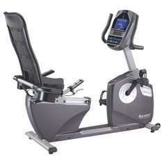Durable, comfortable, and smooth are all qualities of the Spirit Fitness XBR95 semi-recumbent bike. Easy adjustments, a bright LCD screen, an adjustable cooling fan, and mesh seatback are standard des