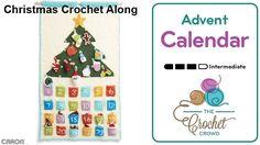 Christmas Advent Calendar Crochet Along Introducing a Crochet Along to welcome Christmas with counting down the days with a Crochet