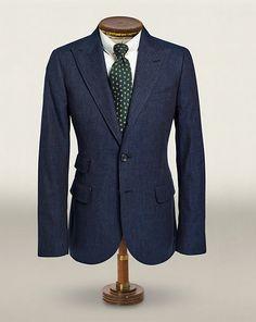 Blazer Collins en coton et laine - Voir tous les vêtements Prêt-à-porter - Ralph Lauren France